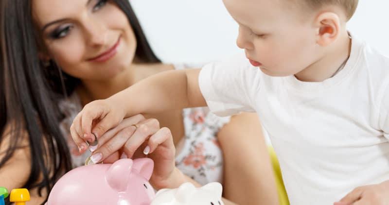 mother holding newborn baby insurance